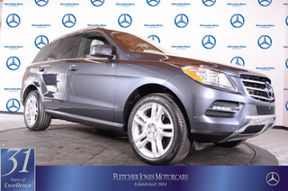 Certified Pre-Owned 2014 Mercedes-Benz M-Class 4MATIC 4dr ML350 All Wheel Drive SUV