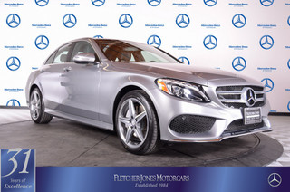 Certified Pre-Owned 2015 Mercedes-Benz C-Class 4dr Sdn C300 Sport 4MATIC All Wheel Drive Sedan