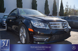 Pre-Owned 2013 Mercedes-Benz C-Class C250 Sport Rear Wheel Drive Sedan