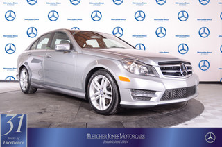 Pre-Owned 2014 Mercedes-Benz C-Class C250 Sport Rear Wheel Drive Sedan