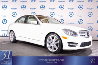Pre-Owned 2012 Mercedes-Benz C-Class C250 Sport RWD Rear Wheel Drive Sedan
