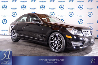 Pre-Owned 2013 Mercedes-Benz C-Class 4dr Sdn C250 Sport RWD Rear Wheel Drive Sedan