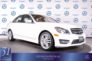 Pre-Owned 2014 Mercedes-Benz C-Class 4dr Sdn C250 Sport RWD Rear Wheel Drive Sedan