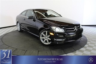 Certified Pre-Owned 2015 Mercedes-Benz C-Class C250 Rear Wheel Drive Coupe