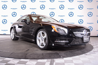 Pre-Owned 2013 Mercedes-Benz SL-Class 2dr Roadster SL550 Rear Wheel Drive Convertible