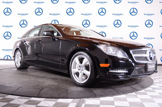 Certified Pre-Owned 2014 Mercedes-Benz CLS CLS550 Rear Wheel Drive Sedan 4 Dr.