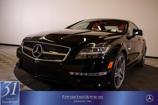 Certified Pre-Owned 2012 Mercedes-Benz CLS CLS63 AMG Rear Wheel Drive Sedan 4 Dr.