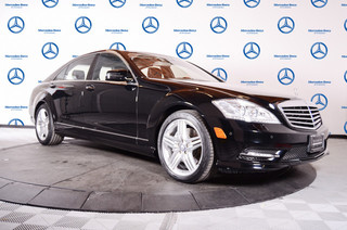 Certified Pre-Owned 2013 Mercedes-Benz S-Class S550 Rear Wheel Drive Sedan 4 Dr.