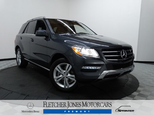 Certified Used Mercedes-Benz M-Class 4MATIC 4dr ML350
