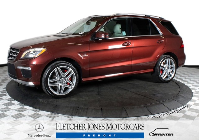 Certified Pre-Owned 2014 Mercedes-Benz M-Class ML63 AMG All Wheel Drive SUV