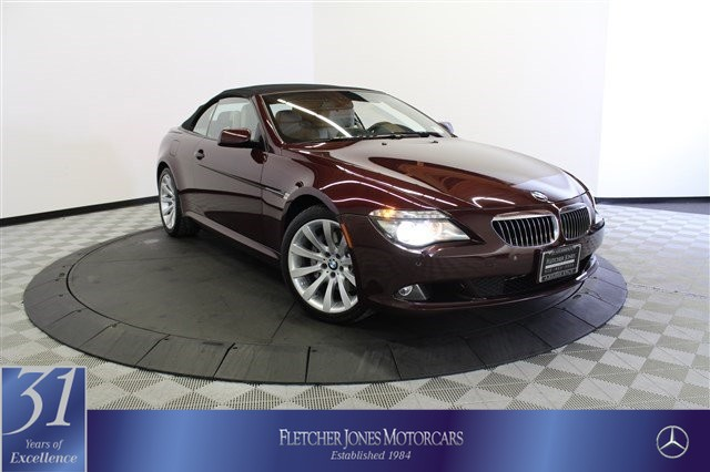 Pre-Owned 2010 BMW 6 Series 2dr Conv 650i Rear Wheel Drive Convertible