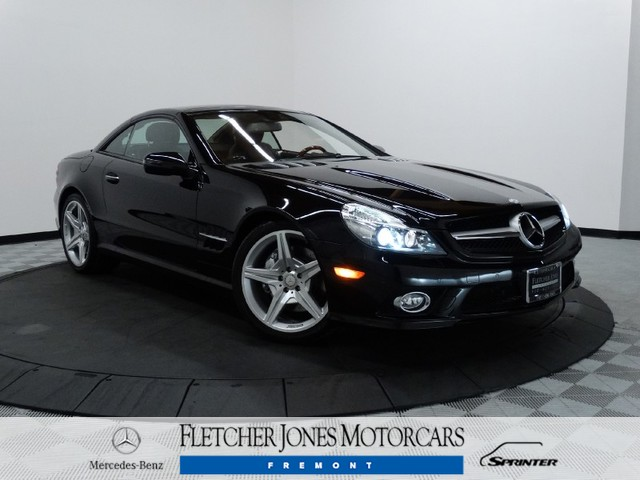 Certified Pre-Owned 2012 Mercedes-Benz SL-Class SL550 Rear Wheel Drive Convertible