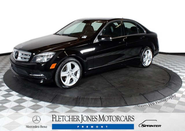 Certified Pre-Owned 2011 Mercedes-Benz C-Class C300 Rear Wheel Drive Sedan