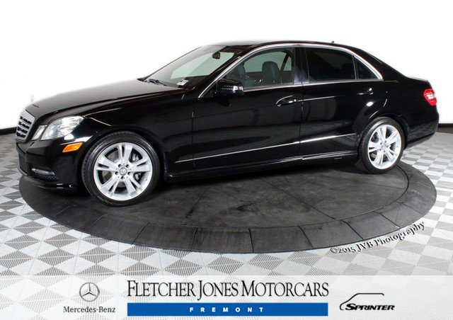 Certified Pre-Owned 2013 Mercedes-Benz E-Class E350 Rear Wheel Drive Sedan