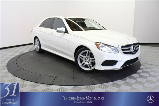 Certified Pre-Owned 2014 Mercedes-Benz E-Class 4dr Sdn E350 Sport RWD Rear Wheel Drive Sedan