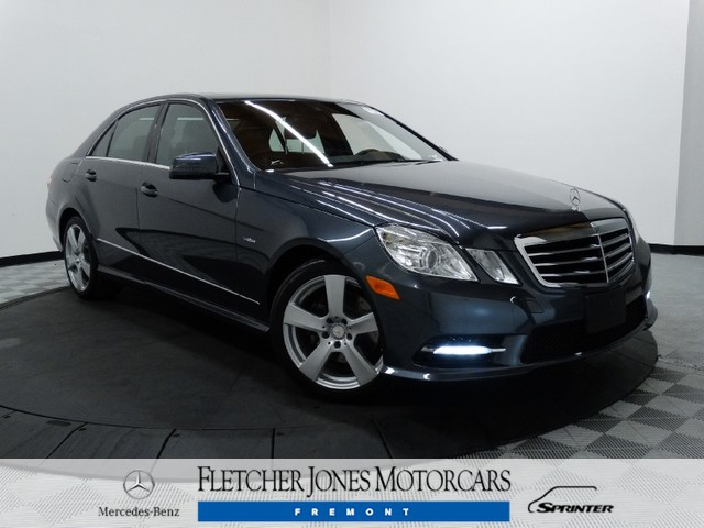 Certified Pre-Owned 2012 Mercedes-Benz E-Class E350 Rear Wheel Drive Sedan