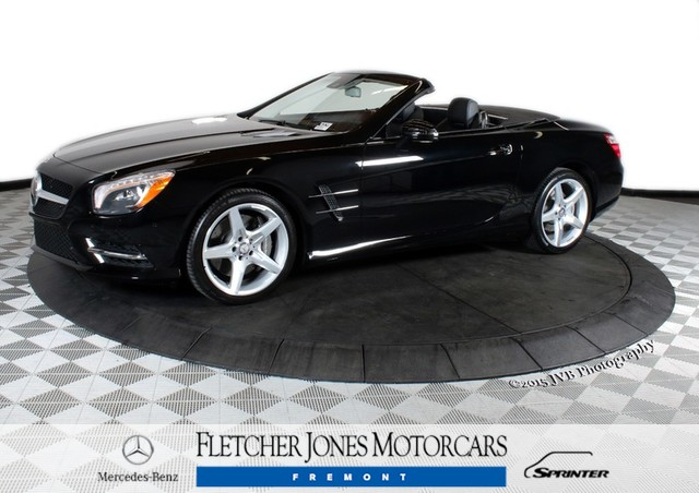 Certified Pre-Owned 2015 Mercedes-Benz SL-Class 2dr Roadster SL400 Rear Wheel Drive Convertible