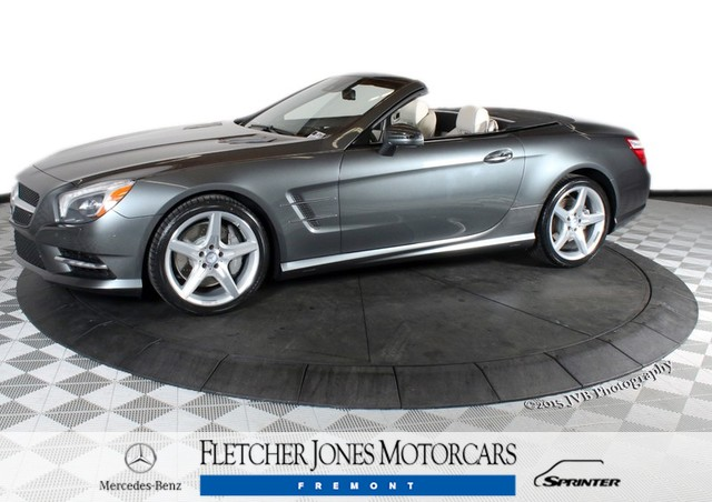 Certified Pre-Owned 2013 Mercedes-Benz SL-Class SL550 Rear Wheel Drive Convertible