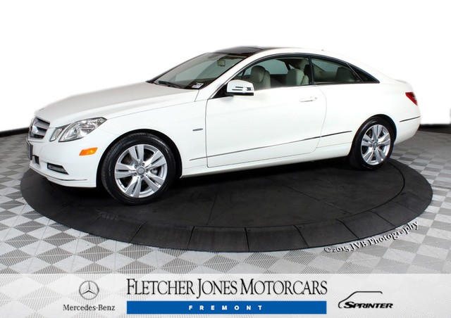 Certified Pre-Owned 2012 Mercedes-Benz E-Class E350 Rear Wheel Drive Coupe