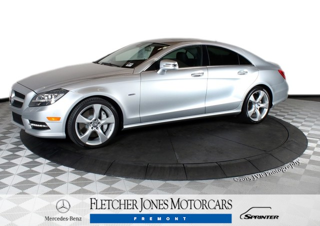 Certified Pre-Owned 2012 Mercedes-Benz CLS-Class CLS550 Rear Wheel Drive Sedan 4 Dr.